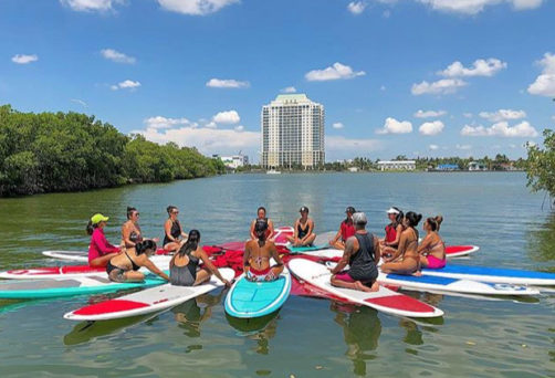 Paddle Board Yoga Workshop